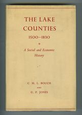 A Short Economic and Social History of the Lake Counties 1500-1830