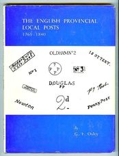 The English Provincial Local Posts 1765-1840