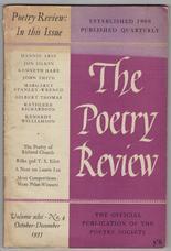 The Poetry Review Vol. xlvi, No.4
