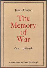The Memory of War. Poems 1968 - 1982