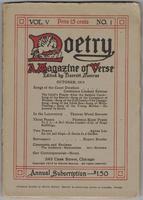Poetry, Vol. 5 No. 1