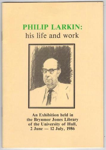 literary analysis of philip larkin s work Focuses on poet seamus heaney's and poet philip larkin's appraisal of each other's works analysis the poem 'mower,' by philip larkin larkin, philip.