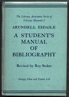 A Student's Manual of Bibliography