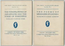 The Poets' Translation Series. Second Set