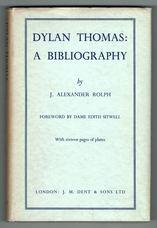 Dylan Thomas: A Bibliography