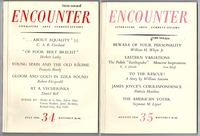 Encounter (Magazine), Numbers 34 to 39, Volume VII (complete, six issues)