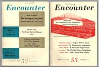 Encounter (Magazine), Numbers 52 to 57, Volume X (complete, six issues)