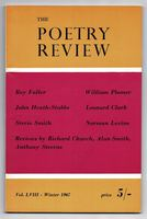 The Poetry Review Vol. LVIII. Number 4 - Winter 1967
