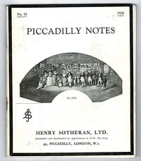Piccadilly Notes No. 2704