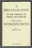 A Bibliography of the Writings in Prose and Verse of William Wordsworth