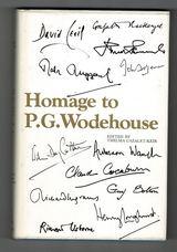 Homage to P.G.Wodehouse